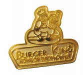 pin troquelado Burger King